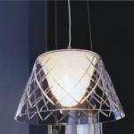 1302 Светильник подвесной Netz C, E27, 1х100 Вт, 200 (макс)х33,5, прозрачный