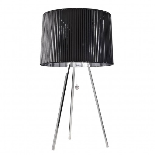1039 Светильник настольный Volumen T1, E27, 1х, 66х35, черный