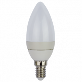 Ecola Light candle LED 3,7W 220V E14 4000K свеча (алюм. радиатор) 102x37