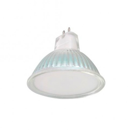 Ecola Light MR16 LED 4,0W 220V GU5.3 M2 6500K матовое стекло 49x50