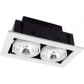 Встраиваемый спот ARTE LAMP A5930PL-2WH CARDANI 2xG5.3 50W 220V IP20