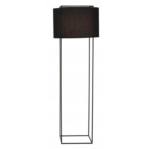 1077 Светильник напольный Mitternacht F2, E27, 1х100 Вт, 165х55, черный