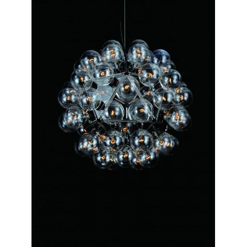 1269 Светильник подвесной Blase C1, Е27, 60х15 Вт, 200 (макс)х80, хром. мет.