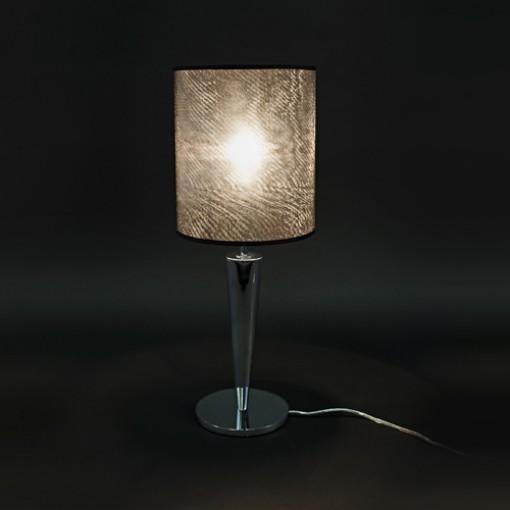 1036 Светильник настольный Luxus T1, E27, 1х, 57х22, серый