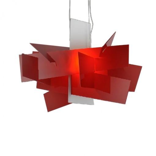 1183 Светильник подвесной Grundstof C1 RD, R7S, 1х200 Вт, 200 (макс)х65х65, красный