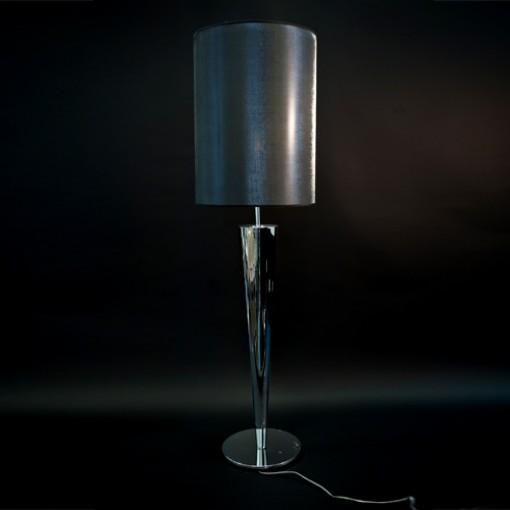 1037 Светильник настольный Luxus T2, E27, 1х, 88х30, серый