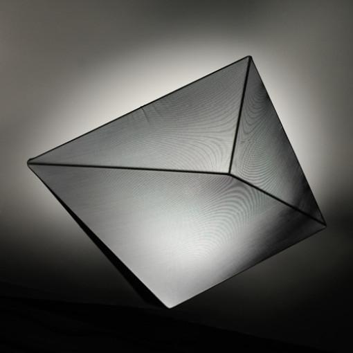 1146 Светильник потолочный Eisberg C1 BK, E27, 4х18 Вт, 18х55х55, черный