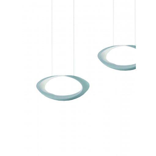 1284 Светильник подвесной Auge C WH, LED, 7х2 Вт, 200х40,6х10,8, белый