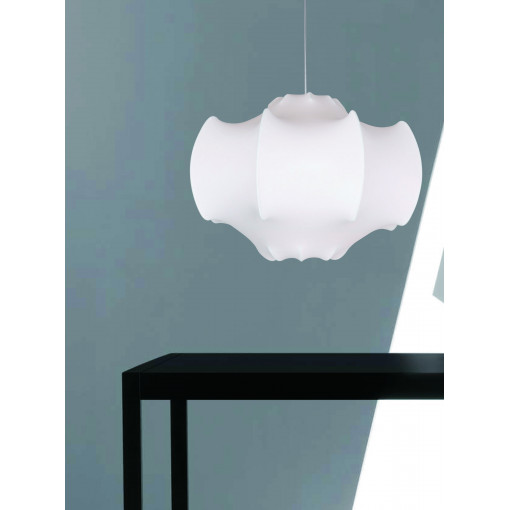 1031 Светильник подвесной Phantom C1, E27, 1х40 Вт, 150х68, белый