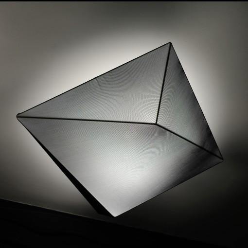 1148 Светильник потолочный Eisberg C2 BK, E27, 4х18 Вт, 20х65х65, черный