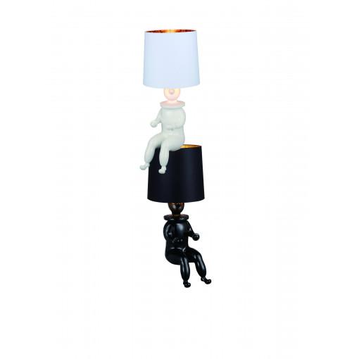 1257 Светильник настольный Puppe T1 BK, E27, 1х60 Вт, 81х35, черный