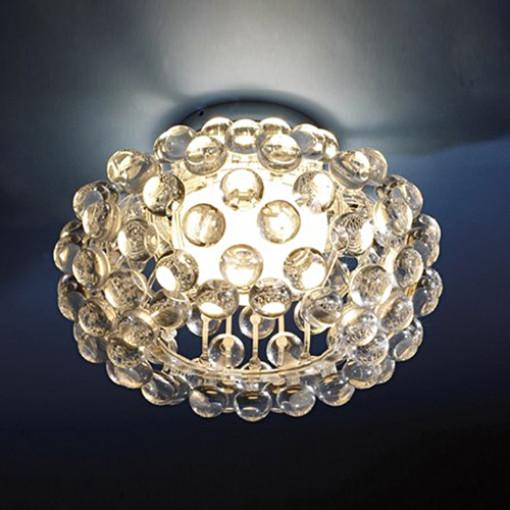 1287 Светильник подвесной Tau C1, R7S, 1х100 Вт, 23х35, прозрачный
