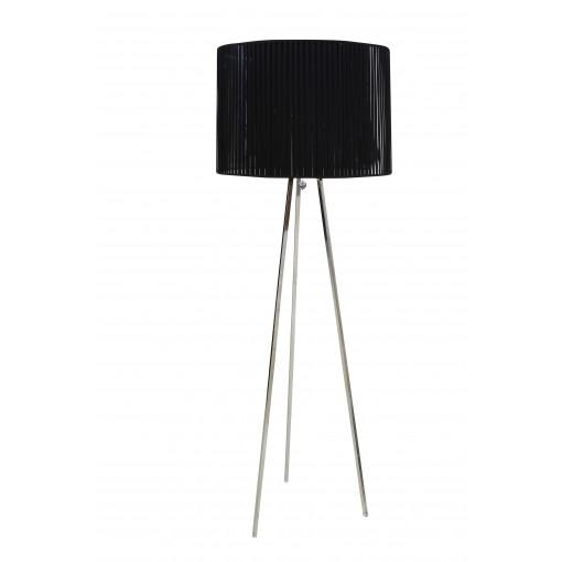 1041 Светильник напольный Volumen F, E27, 3х, 175х63, черный