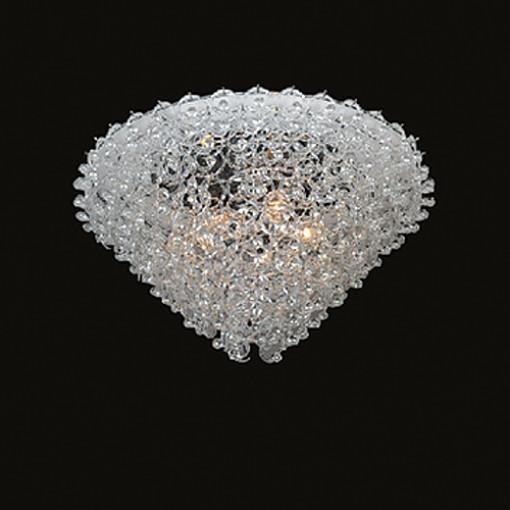 1228 Светильник подвесной Glose С4, Е27, 5х60 Вт, 50х84, прозрачный, хром. мет.