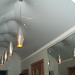 Нестандартные конфигурации натяжного потолка