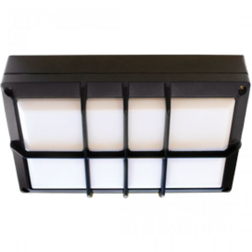 Влагозащищенный светильник GX53 IPGS B4158S Прямоугольник с решеткой