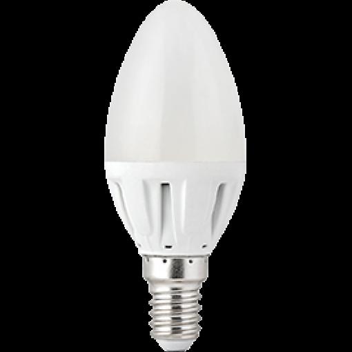 Ecola Light candle LED 4,0W 220V E14 4000K свеча 102x37