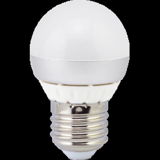 Ecola Light Globe LED 4,0W G45 220V E27 4000K шар (алюм. pадиатор) 70x45