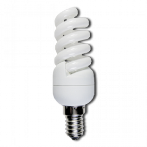 Ecola Light Spiral 11W Micro Full Plus 220V E14 4000K 98x32