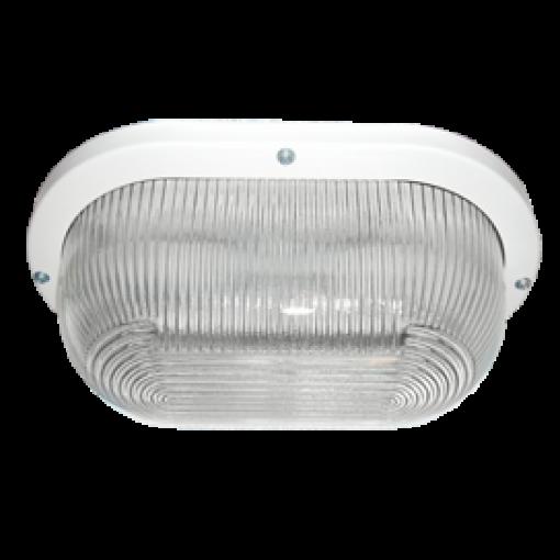 Накладной светильник Ecola-light GX53IP6S и IP20 (овал прозрачное стекло)