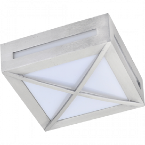Влагозащищенный светильники 3083W Квадрат с решеткой