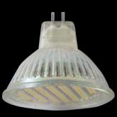 Ecola Light MR16 LED 3W 220V GU5.3 2800K прозрачное стекло 48x50
