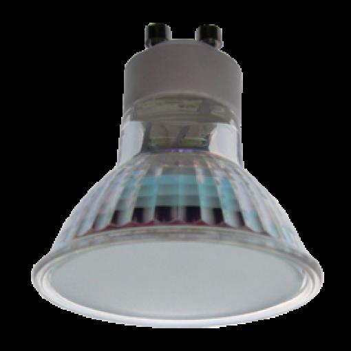 Ecola Light Reflector GU10 LED 3W 220V GU10 6500K матовое стекло 53x50