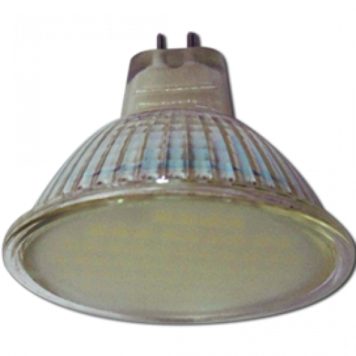 Ecola Light MR16 LED 3W 220V GU5.3 2800K матовое стекло 48x50