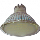 Ecola Light MR16 LED 3W 220V GU5.3 4200K матовое стекло 48x50