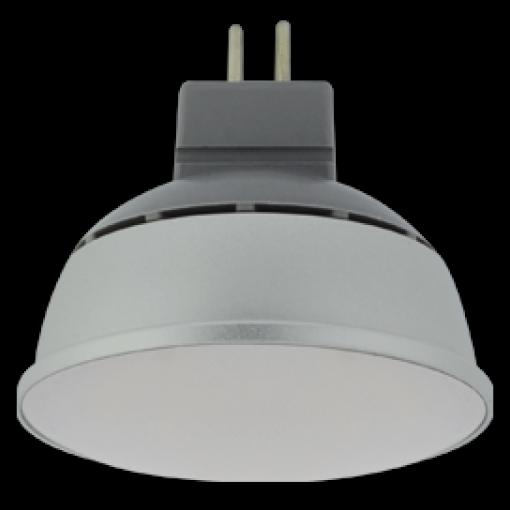 Ecola Light MR16 LED 4,0W 220V GU5.3 4000K матовое стекло (алюм. радиатор) 46x50