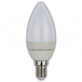 Ecola Light candle LED 3,7W 220V E14 2700K свеча (алюм. радиатор) 102x37