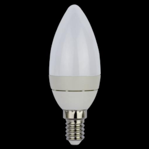 Ecola Light candle LED 3,7W 220V E14 2700K свеча (алюм. радиатор) 102x37