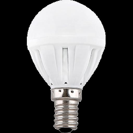 Ecola Light Globe LED 5,0W G45 220V E14 2700K шар 77x45