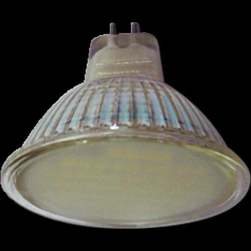 Ecola Light MR16 LED 3W 220V GU5.3 6500K матовое стекло 48x50