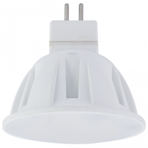 Ecola Light MR16 LED 4,0W 220V GU5.3 M2 2800K матовое стекло 46x50