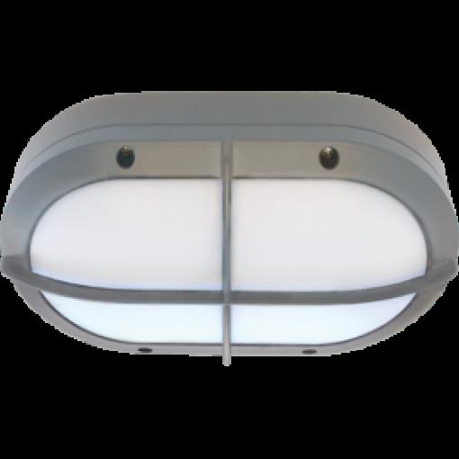 Влагозащищенный светильник GX53 IPGS B4148S Овал с решеткой