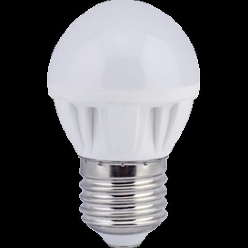 Ecola Light Globe LED 4,0W G45 220V E27 4000K шар 75x45