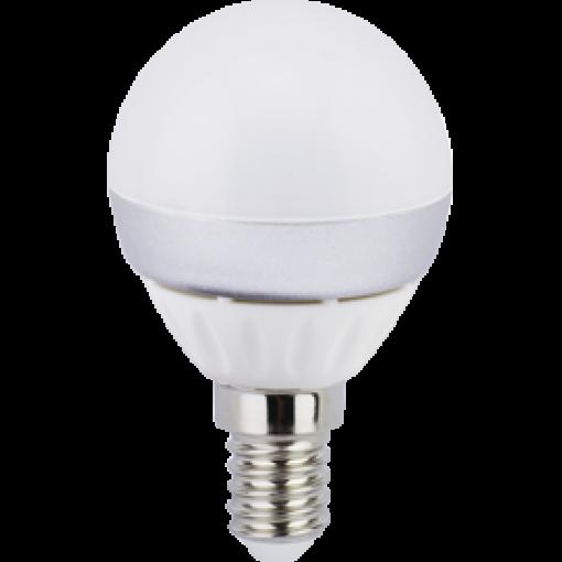 Ecola Light Globe LED 4,0W G45 220V E14 2700K шар (алюм. pадиатор) 76x45