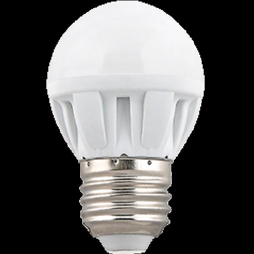 Ecola Light Globe LED 5,0W G45 220V E27 2700K шар 75x45