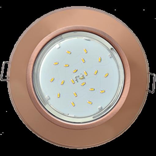 Встраиваемый светильник GX53 Н4 Glass круг (New)