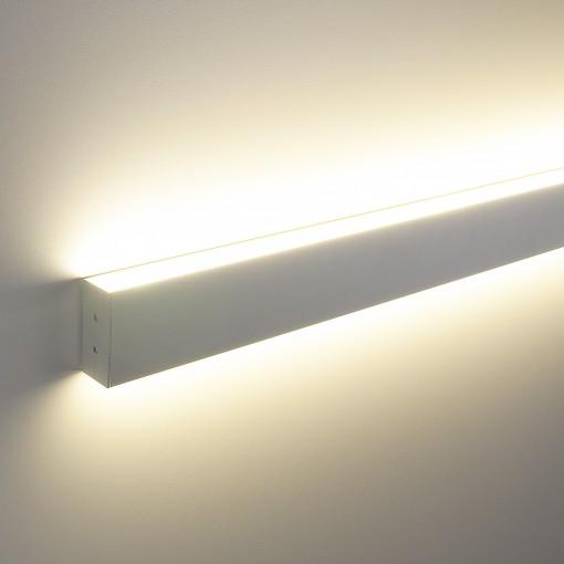 Профильный светодиодный светильник ССП накладной двусторонний 32W 2200Lm 103см