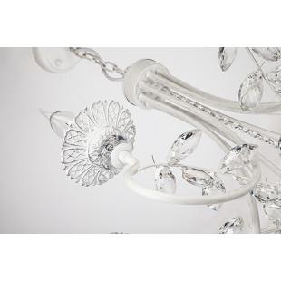 Люстра 60057/8 белый с серебром