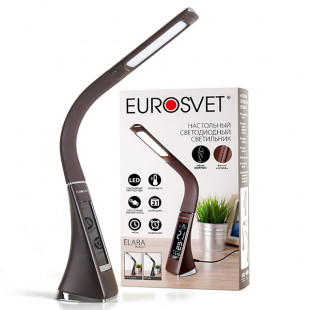 Светодиодная настольная лампа 90202/1 коричневый