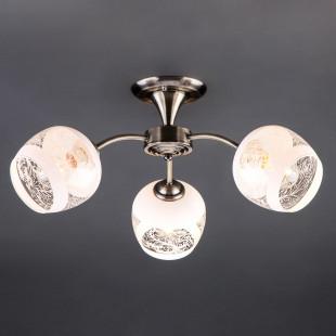 Потолочный светильник 30118/3 античная бронза