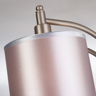 Классическая люстра с абажурами 60080/5 сатин-никель