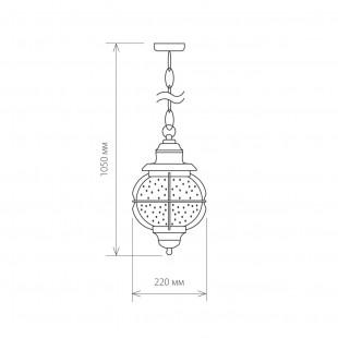 Regul H черная медь уличный подвесной светильник GLXT-1475H