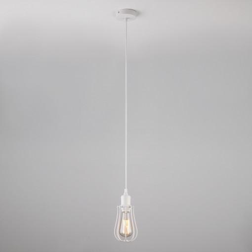 Подвесной светильник в стиле лофт 50065/1 белый