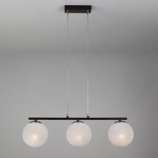 Подвесной светильник в стиле лофт 70069/3 хром/черный