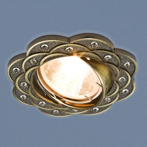 Точечный светильник 8006 MR16 SB бронза