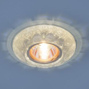 Точечный светильник со светодиодами 7249 MR16 SL серебряный блеск